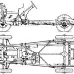 Конструкция рамы и ходовой части Газ М1